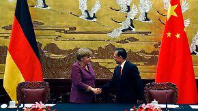 Merkel hofft auf Chinas Hilfe: Wen Jiabao bleibt vage
