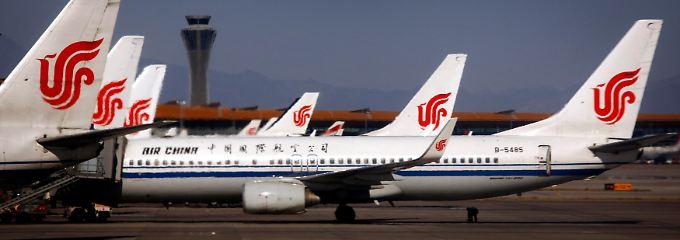 Selbst wenn sie wollten: Chinas Fluggesellschaften dürfen nicht mitmachen.