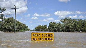 Überschwemmungen in Australien: Behörden rufen zur Flucht auf