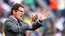 Nicht mehr im Amt: Fabio Capello hat seinen Posten als englischer Nationaltrainer aufgegeben.