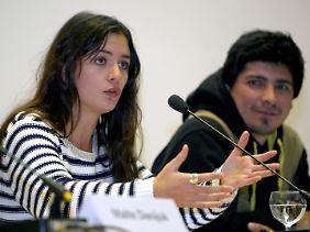 Die erst 23 Jahre alte Vallejo war im vorigen Jahr zum Gesicht der Protestbewegung geworden.