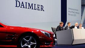 BMW im Nacken: Daimler mit Rekordgewinn