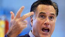 Die Zahl der Vorwahl-Siege von Mitt Romney wächst.