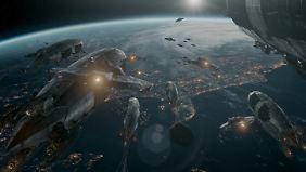 Die Invasion der Erde hat begonnen.