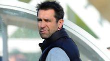 """""""Es ist nicht aufgegangen"""": Michael Preetz sucht einen neuen Fußballlehrer für die Berliner Hertha."""