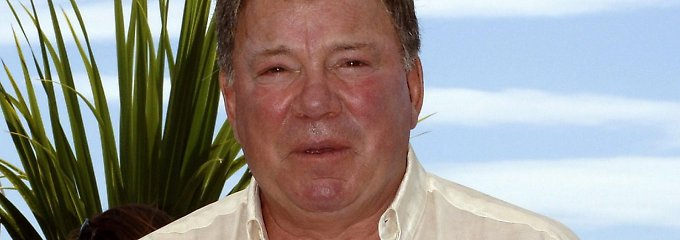 Weit gereist: William Shatner.