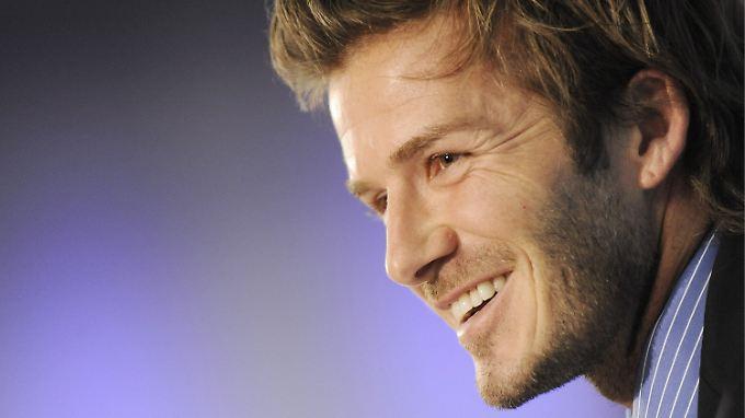 David Beckham fällt neben dem Platz vor allem durch sein Modebewusstsein auf.