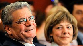 Bundespräsident in wilder Ehe: CSU-Politiker legt Gauck Hochzeit nahe
