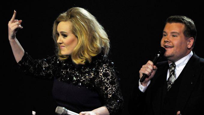 Verleihung der Brit Awards: Adele stinkig trotz zweier Preise