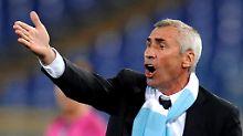 Edy Reja hat erneut seinen Rücktritt als Lazio-Trainer erklärt. Diesmal dürfte er davon nicht wieder zurücktreten.
