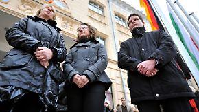 """Zeichen gegen Rechts: NSU-Morde """"Schande für unser Land"""""""