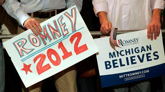 Santorum vs. Romney: Das Duell der Erzkonservativen