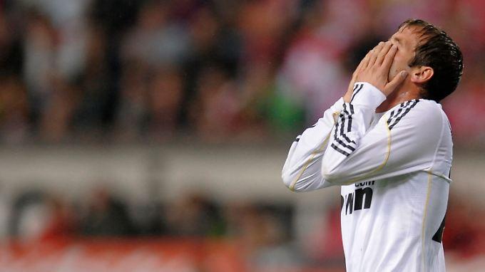 Auch Edeljoker Rafael van der Vaart konnte Real nicht zum Torerfolg verhelfen.