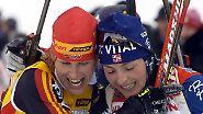 Fräulein Neuners Gespür für Schnee: Biathlon, Faszination pur