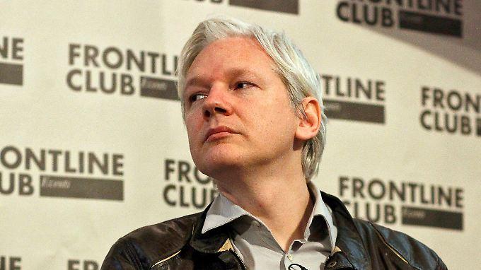Julian Assange, Kopf von Wikileaks.
