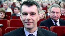 Michail Prochorow - Teil des Spiels.
