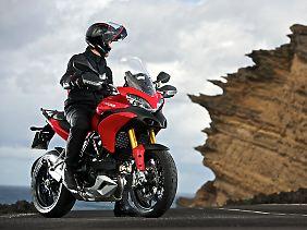 Die Ducati Multistrada 1200 S Touring die Goldmedaille in der Kategorie der Allrounder.