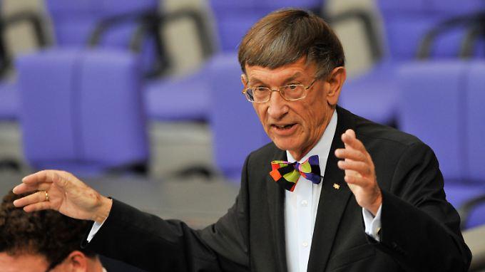 Von 1982 bis 1993 war Riesenhuber Bundesminister für Forschung und Technologie.