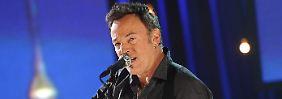 Singt gegen die korrumpierte Finanzwelt und die geldgierigen Wall-Street-Banker an: Bruce Springsteen.