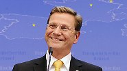 """""""Have a nice day!"""": Westerwelle in Brüssel"""