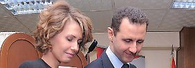 Asma und Baschar al-Assad ausgespäht?