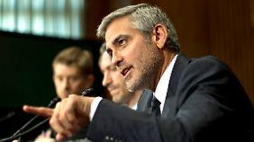 Dinner mit den Obamas: Clooney kämpft für den Sudan