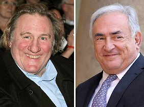 An seiner Haarfarbe muss der Schauspieler Depardieu noch arbeiten, wenn er Strauss-Kahn glaubhaft verkörpern will.