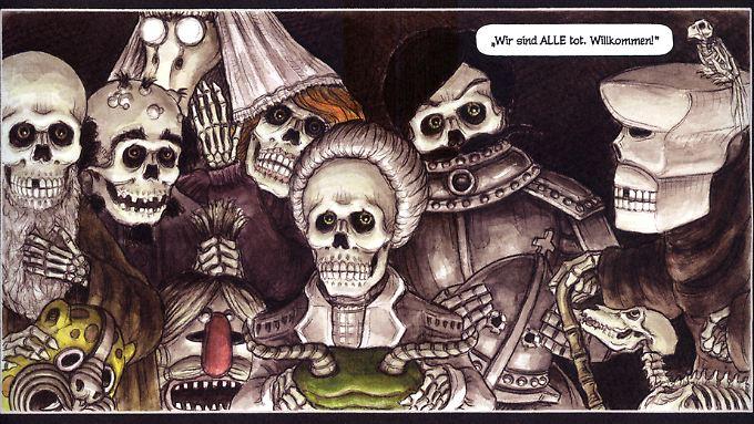 Im Totenreich ist was los ...