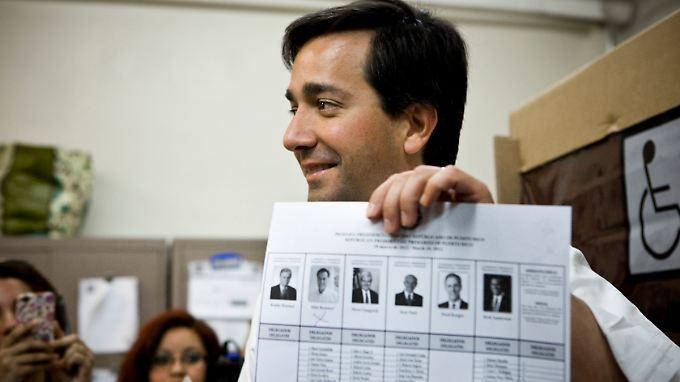 Puerto Ricos Gouverneur Luis Fortuño hatte sich schon bei den Vorwahlen als Romney-Fan geoutet.