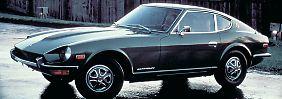 So wie der Datsun Fairlady 240Z aus dem Jahr 1969 werden die neuen Modelle leider nicht aussehen.