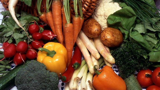Von außen betrachtet, sieht das Gemüse lecker und gesund aus.
