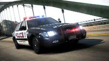 """Ein echter Bolide für US-Polizisten: Mit dem """"Abfangjäger"""" auf Streife"""