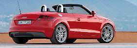 Der Audi TT ist als Coupé und als Roadster zu haben.