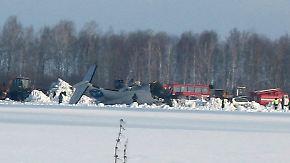 31 Tote, 14 Schwerverletzte: Flugzeug stürzt in Sibirien ab