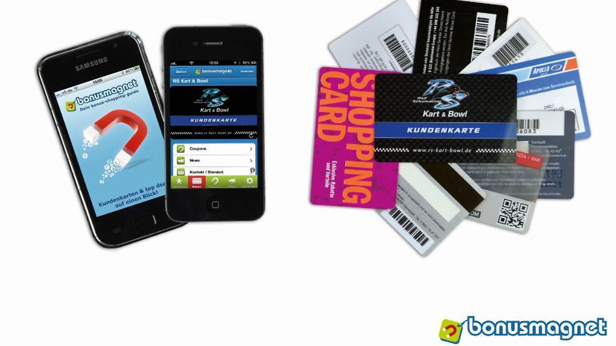 kundenkarten auf dem smartphone auszeichnung f r bonusmagnet n. Black Bedroom Furniture Sets. Home Design Ideas