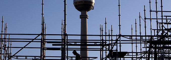 Seit 20 Jahren wird in Berlin-Mitte gebaut und gebaut und gebaut.