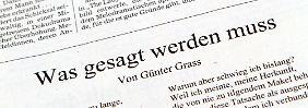 Grass bricht kein Tabu: Lyrik mit Lüge
