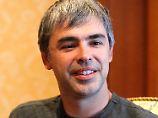 Heute ist der jungenhafte Larry Page erwachsen geworden - sieht sich aber noch als Weltverbesserer.