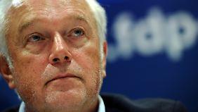 Machtkampf in der FDP: Kubicki attackiert Parteispitze