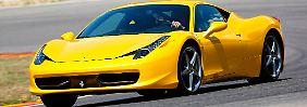 Der Ferrari 458 soll abspecken und 30 PS mehr Leistung bekommen.