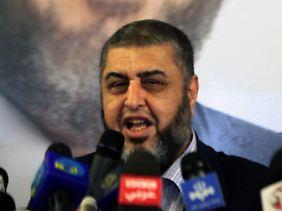 ... ebenso Muslimbruder al-Schater ...