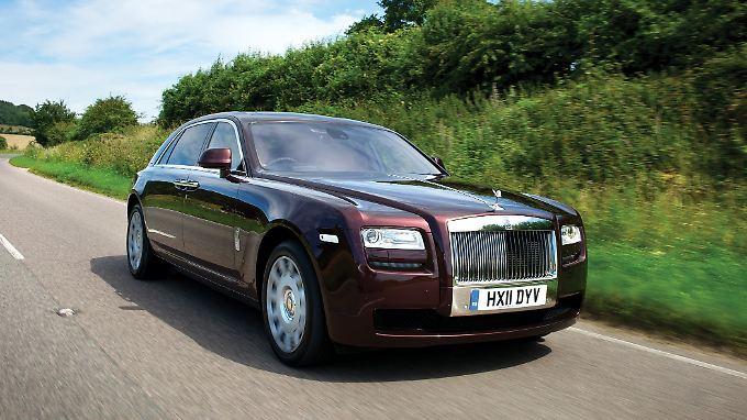 Kommt bald ein wenig sportlicher daher: der Ghost von Rolls-Royce.