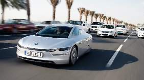 Der XL1 ist die Zukunft von VW. Wann er als Serienfahrzeug kommt, steht in den Sternen.