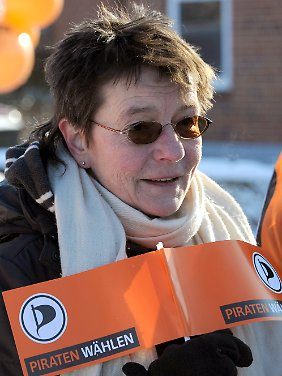 Will mit den Piraten den Landtag in Kiel erobern: Angelika Beer.