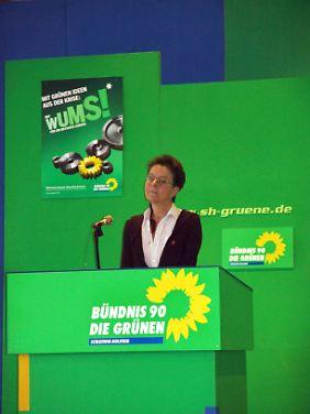 Bei ihrem Rücktritt im März 2009 kämpfte Beer mit den Tränen.