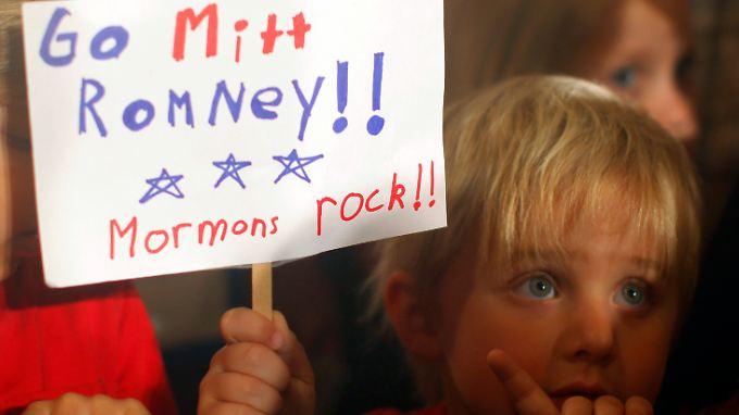 Sein Glaube spielt im Wahlkampf von Mitt Romney bisher kaum eine Rolle.