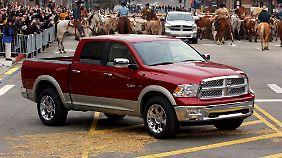Solche Autos wollen die Amis: Der Ram aus dem Hause Chrysler ist sehr beliebt.