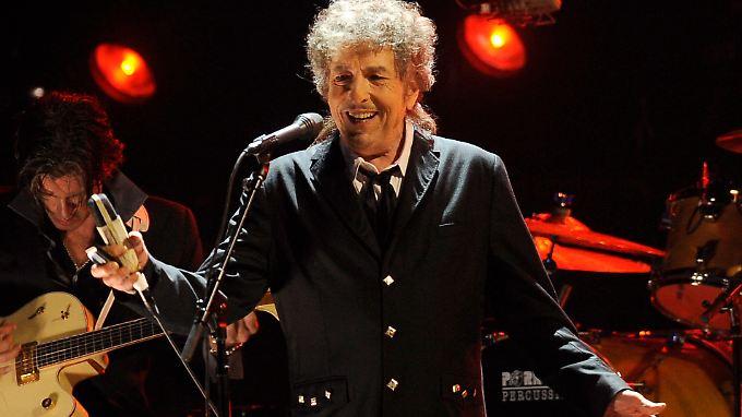 Einer von 13 Preisträgern: Songwriter Bob Dylan.