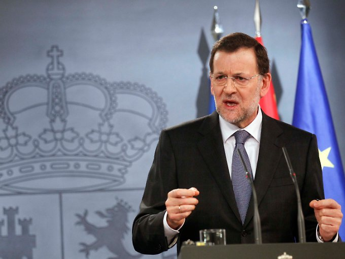 In der Zwickmühle: Mariano Rajoy.