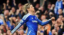 Erwischte einen guten Tag: Fernando Torres